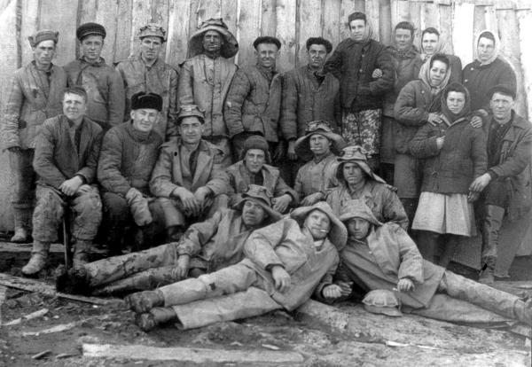 Ш. Постниковская №1. Весна 1952 г.