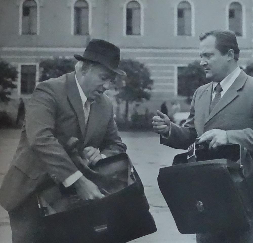 Кадр из фильма «Уходя — уходи» (режиссер Виктор Трегубович. «Ленфильм», 1978)