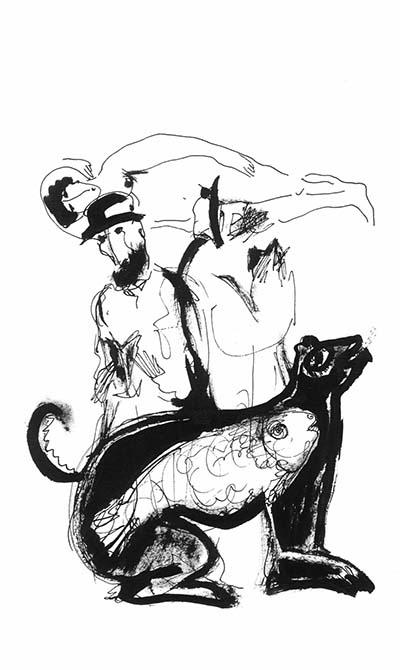 графика Марка Кановича