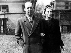 С женой Верой. 1944г.