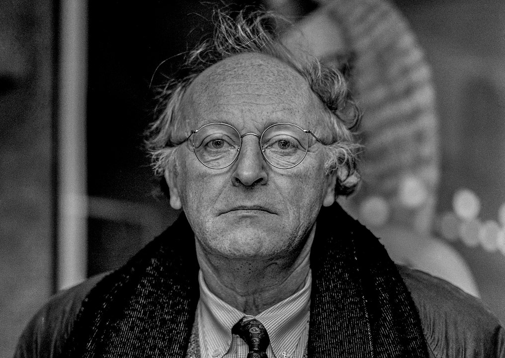 Portrait of Joseph Brodsky, made by Sergei Bermeniev shortly before the writer's death.